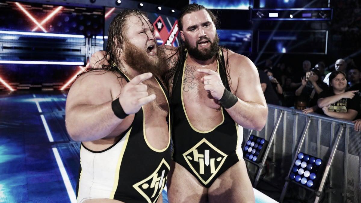 'Heavy Machinery' apunta a los títulos por pareja de SmackDown