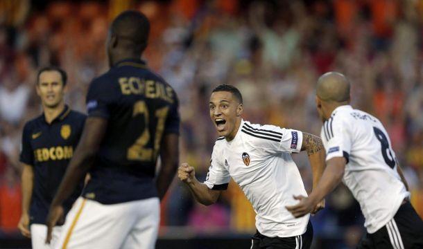 Champions League, il Valencia supera il Monaco