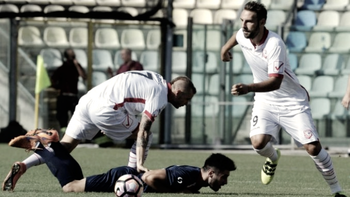 Serie B: colpaccio Cesena, Carpi battuto 1-2 grazie a Balzano e Cocco. Inutile il rigore di Bianco