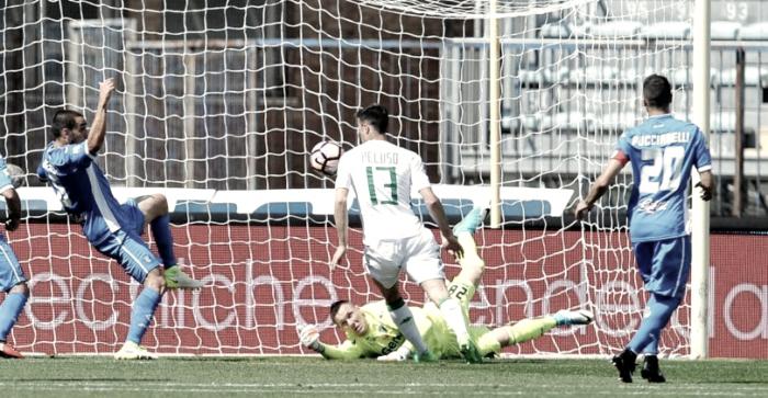 Serie A - Volata salvezza: Empoli sconfitto in casa 1-3 dal Sassuolo