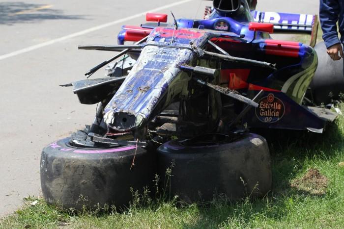 F1 - La Toro Rosso torna dal Canada con le ossa rotte