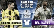 Borussia Dortmund vs Real Madrid en vivo en Champions League (2-2)