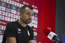 """Diego Martínez:""""Lo realmente especial es poder entrenar a estos jugadores y jugar en este estadio"""""""