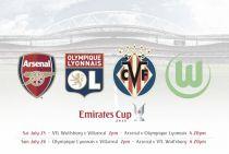 El Villarreal estará presente en la próxima Emirates Cup