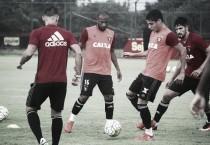 Sport com quatro novidades no primeiro treino antes de encarar Corinthians