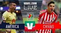 Chivas perdona y América aprovecha y clasifica a semifinales