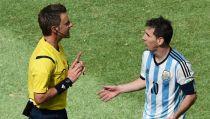 Un árbitro de infausto recuerdo para Messi