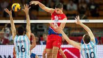 Argentina no pudo con Serbia