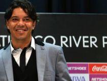 """Marcelo Gallardo: """" Lo bueno es que no tenemos que viajar"""""""