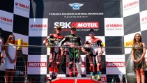 Sbk 2017- Bis di Rea a Phillip Islands