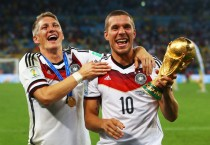 """Caso Schweinsteiger, Podolski attacca Mou: """"Gesto indegno"""""""