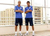 Miranda y Thiago Silva: una coincidencia que ha tardado 8 años