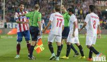 """Los árbitros """"persiguen"""" al Atlético de Madrid: ve una amarilla cada 3 faltas"""