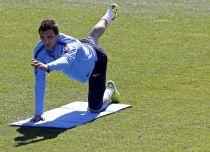 Mandzukic se ausenta de la sesión por un traumatismo en la rodilla