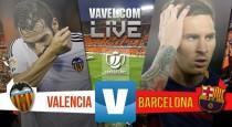 Valencia CF vs FC Barcelona en vivo y en directo online