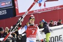 Alpine Skiing: Carlo Janka Wins The Super G In Jeongseon
