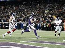 Vikings vence a Giants y ya son equipo de playoffs