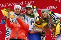 Alpine Skiing: Lara Gut Wins The Super G InGarmisch-Partenkirchen
