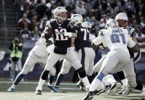 Brady lidera a los Patriots en la victoria sobre los Lions