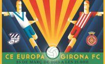 Europa - Girona en directo online (2-1)