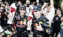 Ricciardo volvió a sonreir