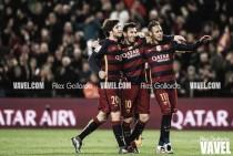 El Barça se da un festín ante el Valencia