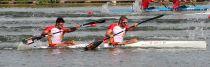 El K-2 200 de Cristian Toro y Carlos Arévalo luchará por las medallas en Bakú