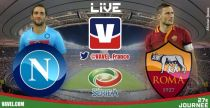Live Serie A : Le match SC Naples vs AS Rome en direct