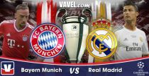 Live Champions League : le match Bayern Munich vs Real Madrid en direct