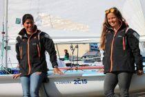 La campeona olímpica Sofía Toro busca el apoyo de los amantes de la vela