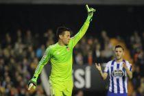 """Diego Alves: """"Ha sido el partido con más ocasiones contra el Barcelona de mi vida"""""""