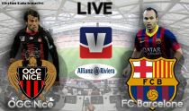 Live OGC Nice vs FC Barcelone, le match en direct
