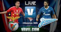 Benfica vs Zenit en vivo y en directo online