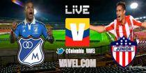 Millonarios vs Junior, Liga Postobón en vivo online