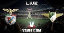 Benfica vs Moreirense, Taça de Portugal en vivo y en directo online
