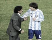 Maradona afirma que vai conversar com Messi para não deixar Seleção Argentina