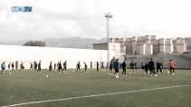 El Málaga se ejercitó en la sesión previa al partido frente al Eibar