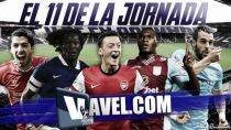 El once ideal de la 15ª jornada de la Premier League