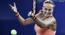 WTA Premier de Wuhan: Kvitova surpreende, arrasa Halep e fará final contra Cibulkova
