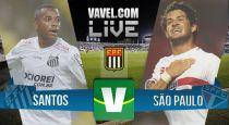 Resultado Santos x São Paulo no semifinal Campeonato Paulista 2015 (2-1)
