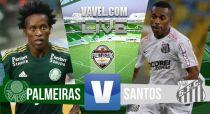 Palmeiras vs Santos en vivo y en directo online en la ida de la Final del Paulistao 2015