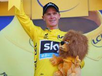 """Chris Froome: """"No esperaba liderar la carrera tan pronto"""""""