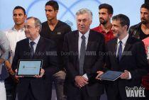 """Florentino Pérez: """"Hemos tomado la decisión de relevar a Carlo Ancelotti"""""""