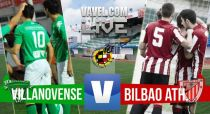Villanovense - Bilbao Athletic en directo online: playoffs 2015 de Segunda B en vivo