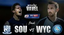 Southend United vs Wycombe Wanderers: el final del camino
