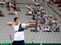 Alvariño lanza sus flechas hacia el oro