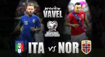 Italy - Norway Preview: Azzurri aiming for top spot as Norway seek qualification