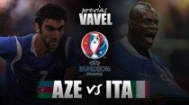 Azerbaiyán - Italia: 'La Azzurra'quiere certificar su pase