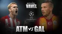 Atlético de Madrid - Galatasaray: Victoria como símbolo de clasificación