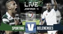 Rsultado Sporting de Portugal vs Belenenses en la Liga Portuguesa 2015 (1-0): William derriba el muro en el descuento